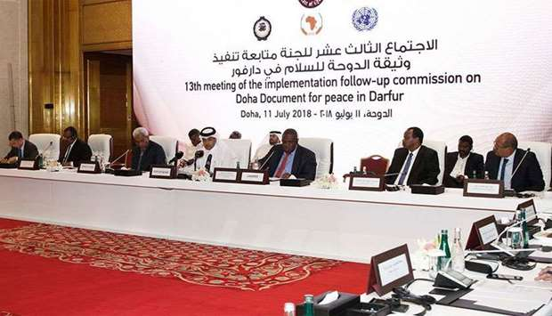 The Joint Mediator and the Head of the UN Mission in Darfur (UNAMID) expresses his deep appreciation