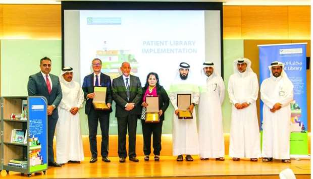 HMC's first mobile patient library opens at QRI