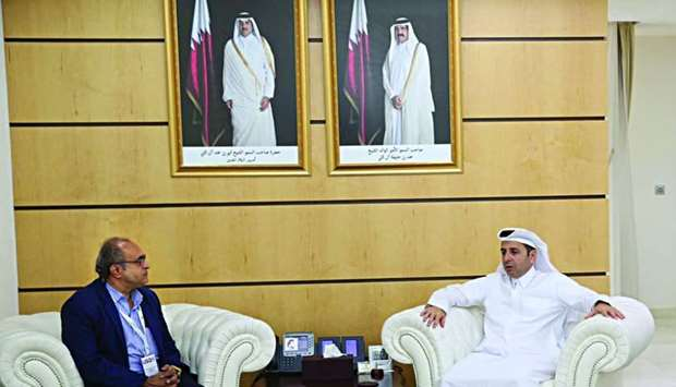 HE the Minister of Education and Higher Education Dr Mohamed Abdul Wahed Ali al-Hammadi with the Pre