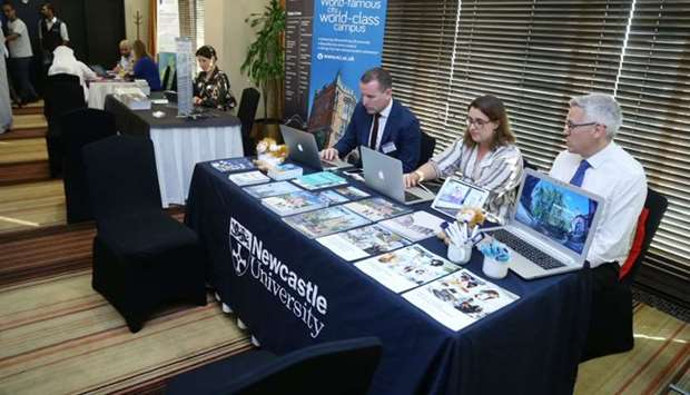 Fair held for students aspiring to study in UK