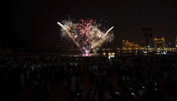 Eid festivities at Katara draw huge crowds