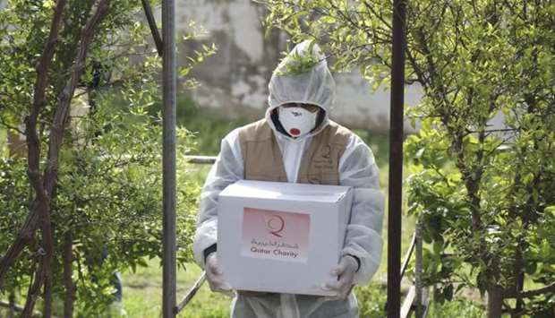 Qatar Charity has launched the 'Rescue Mission' initiative to help those affected by Covid-19.