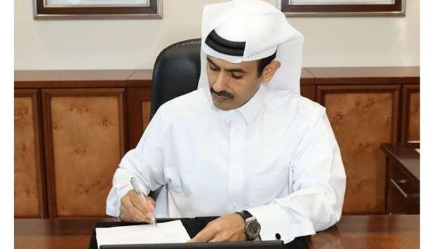 HE the Minister of State for Energy Affairs Saad Sherida al-Kaabi, also the President and CEO of QP,