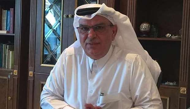 HE the Chairman of Qatar Committee for the Reconstruction of Gaza Ambassador Mohammed Al Emadi.