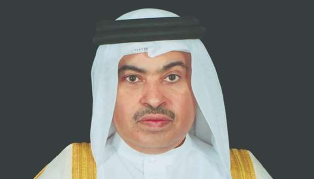 HE the Minister of Commerce and Industry Ali bin Ahmed al-Kuwari