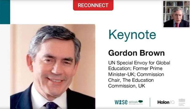 Every child deserves education, says ex-British PM Brown