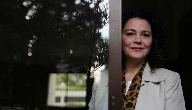 Soraya Smaili, rector of the Federal University of Sao Paulo (UNIFESP), poses for a picture in Sao P