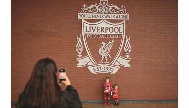 young Liverpool fans