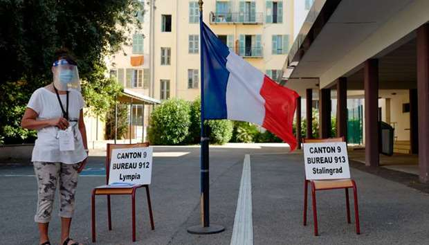 France holds municipal elections postponed by virus crisis