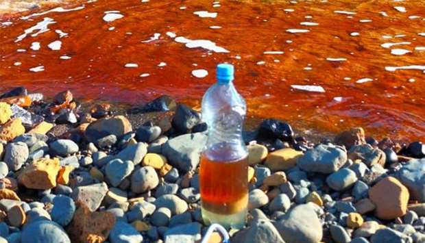 Massive thermal plant fuel leak pollutes Siberian river