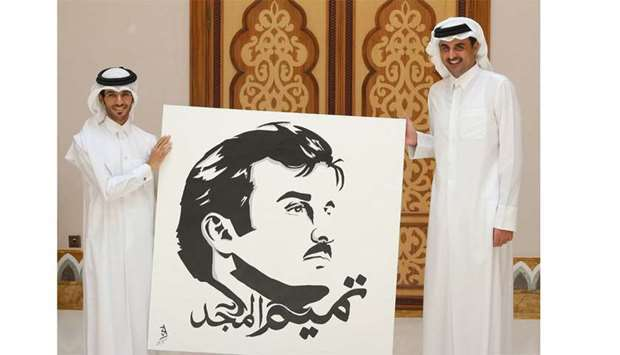 'Tamim Al Majd' became popular because of people's love for the Amir