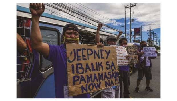 Drivers of jeepney