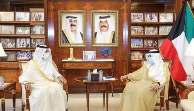 During the meeting, the Kuwaiti minister praised the efforts and contributions of ambassador al-Atti
