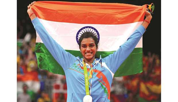 Badminton player PV Sindhu had won one of India's two medals at the 2016 Rio Olympics. (Reuters)