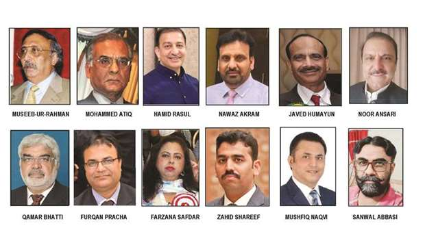 The new office bearers