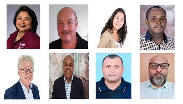 Team members of the project.