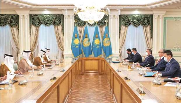 The meeting dealt with reviewing bilateral co-operation, as well as regional and international devel