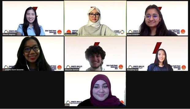 From the Qatar Youth Power Conference held virtually.