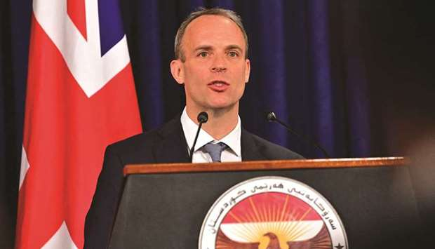 Raab: What we want is a bit of respect from the other side, a bit of flexibility, a bit of goodwill.