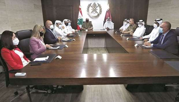 The Commander of the Lebanese Army, General Joseph Aoun, has expressed thanks and gratitude to Qatar