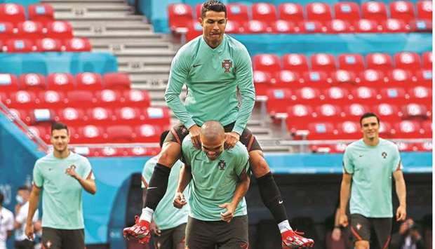 Ronaldo says ready for 'perfect' Euro 2020 bow in front of full house