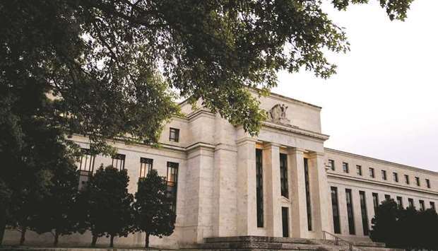 The Federal Reserve building in Washington, DC. The Fed's existing facilities have helped alleviate