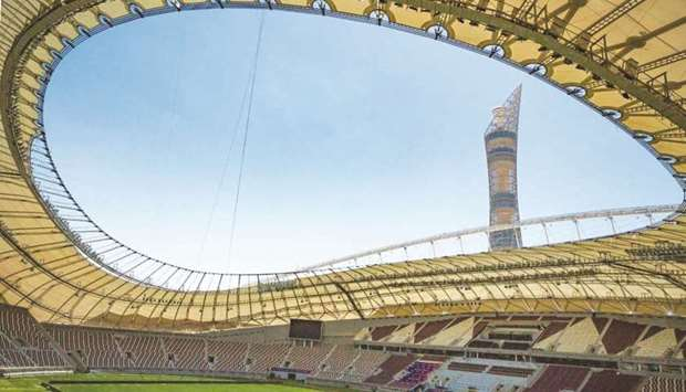 Khalifa International Stadium is one of two venues to host FIFA Arab Cup qualification matches this