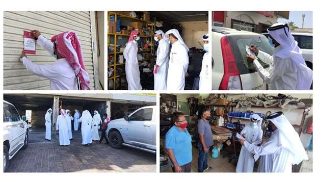 Lasting for a month, the campaign will be implemented to detect hygiene and building violations, in