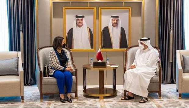 Deputy Prime Minister and Minister of Foreign Affairs meets Foreign Minister of Libya