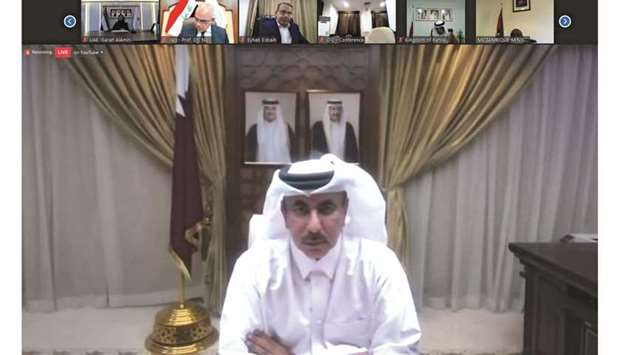 Qatar's delegation to the summit was headed by HE the Minister of Transport and Communications Jassi