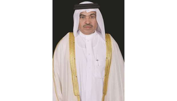 HE the Minister of Commerce and Industry and Acting Minister of Finance, Ali bin Ahmed al-Kuwari.