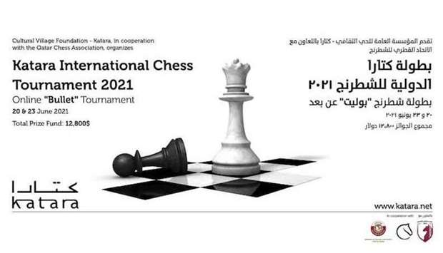 The worldwide open event is being conducted by the Qatar Chess Federation (QCF) in co-operation with