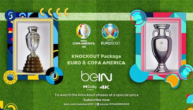 beIN Sports launches Knockout Package for Euro, Copa America