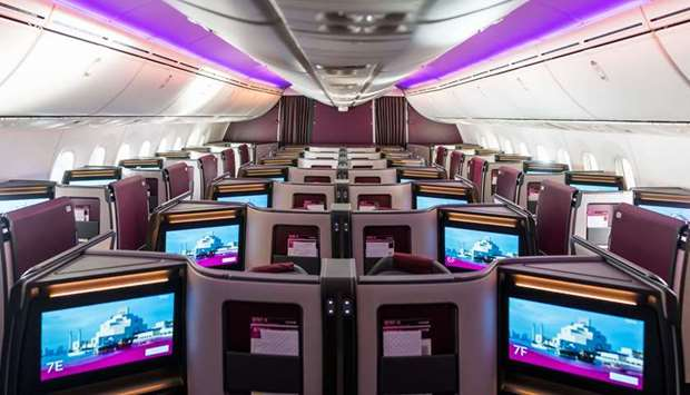 Qatar Airways introduces Boeing 787-9 featuring new Business Class Suite