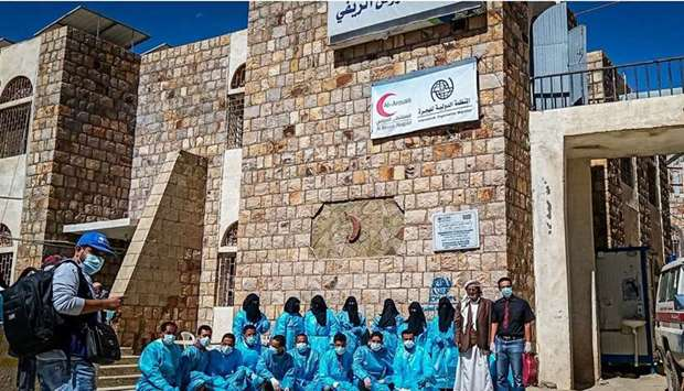 In Yemen, the IOM, in partnership with QC, is working to support Al Arouss Hospital in Ta'iz governo