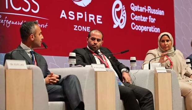 Aspire Zone Foundation and the International Center for Sports Security hosted a panel discussion at