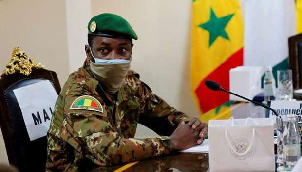 Colonel Assimi Goita, leader of Malian military junta, attends the Economic Community of West Africa