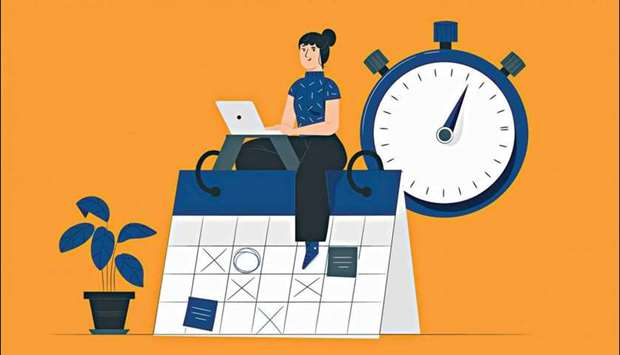 The two important keys to time management are the ability to set priorities and the skill of concent