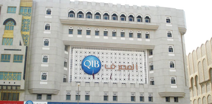 Qatar Islamic Bank assets last year grew five times faster than those of the biggest one in the UAE,