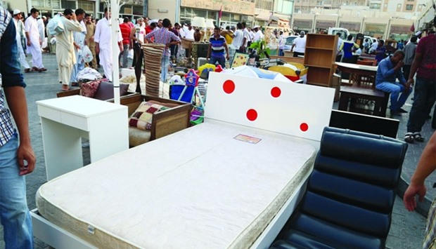 Used furniture home appliances find fewer takers for Home furniture suppliers in qatar