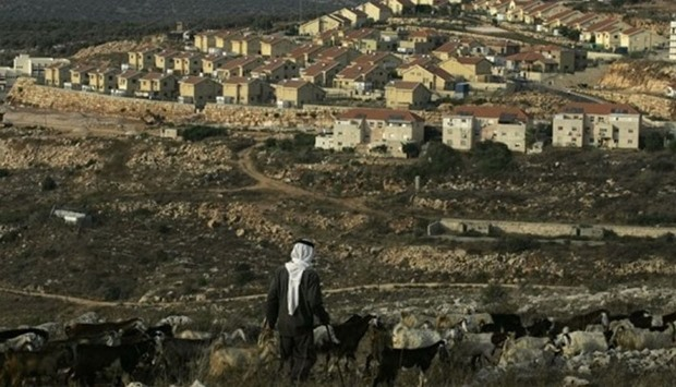 An Israeli settlement of Revava, near the West Bank Village of Salfit.