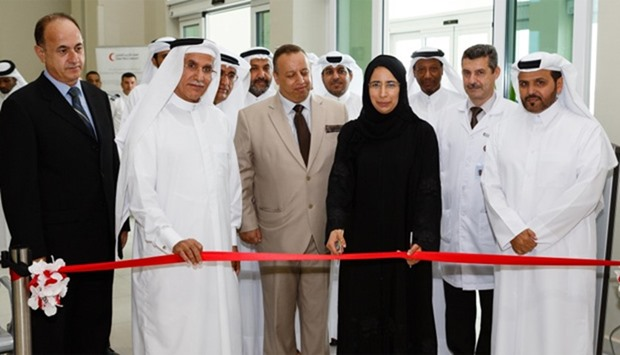The Minister of Public Health (MOPH) , HE Dr. Hanan Mohammad al-Kuwari has inaugurating Al Hemaila M