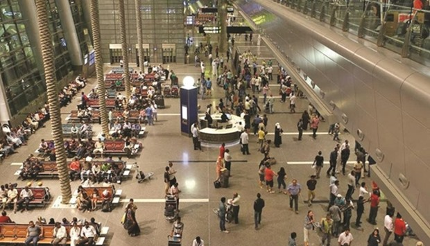 A large number of people are expected to pass through Hamad International Airport during the Eid
