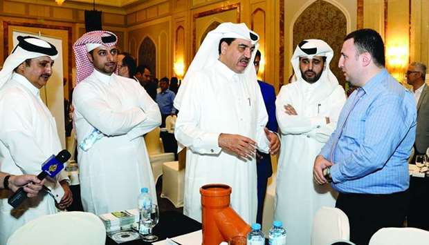 HE the Minister of Municipality and Environment Mohamed bin Abdullah al-Rumaihi