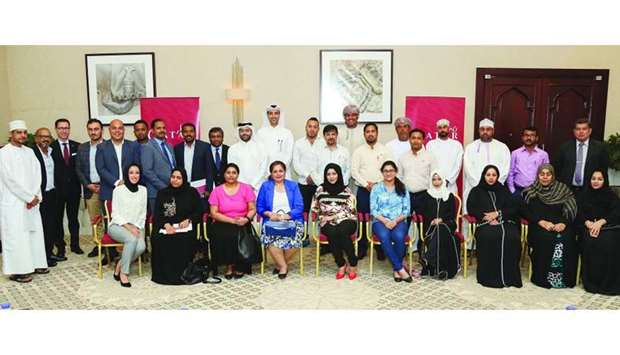 A senior QTA delegation meets with its counterparts in Oman recently.