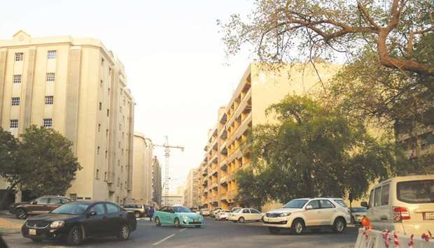 A view of a street in Mansoura area