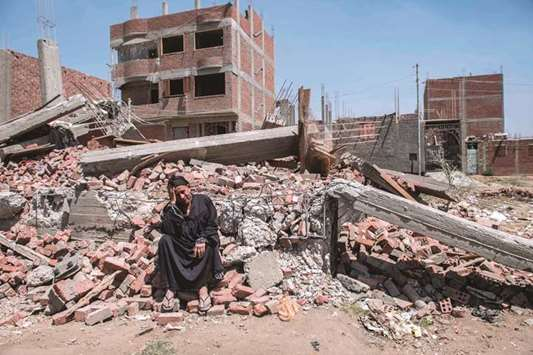 Egypt squatters lose homes as state seizes land