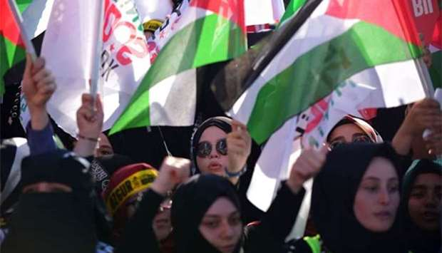 Jew Detector: Turks Hold Rally To Show Solidarity With Palestinians