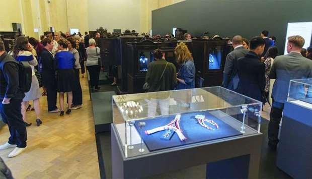 Visitors get an opportunity to see QM's rare collection at the Pearls: Treasures from the Seas and t
