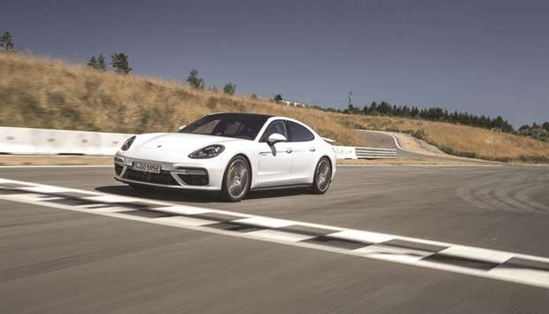 The Panamera Turbo S E-Hybrid.